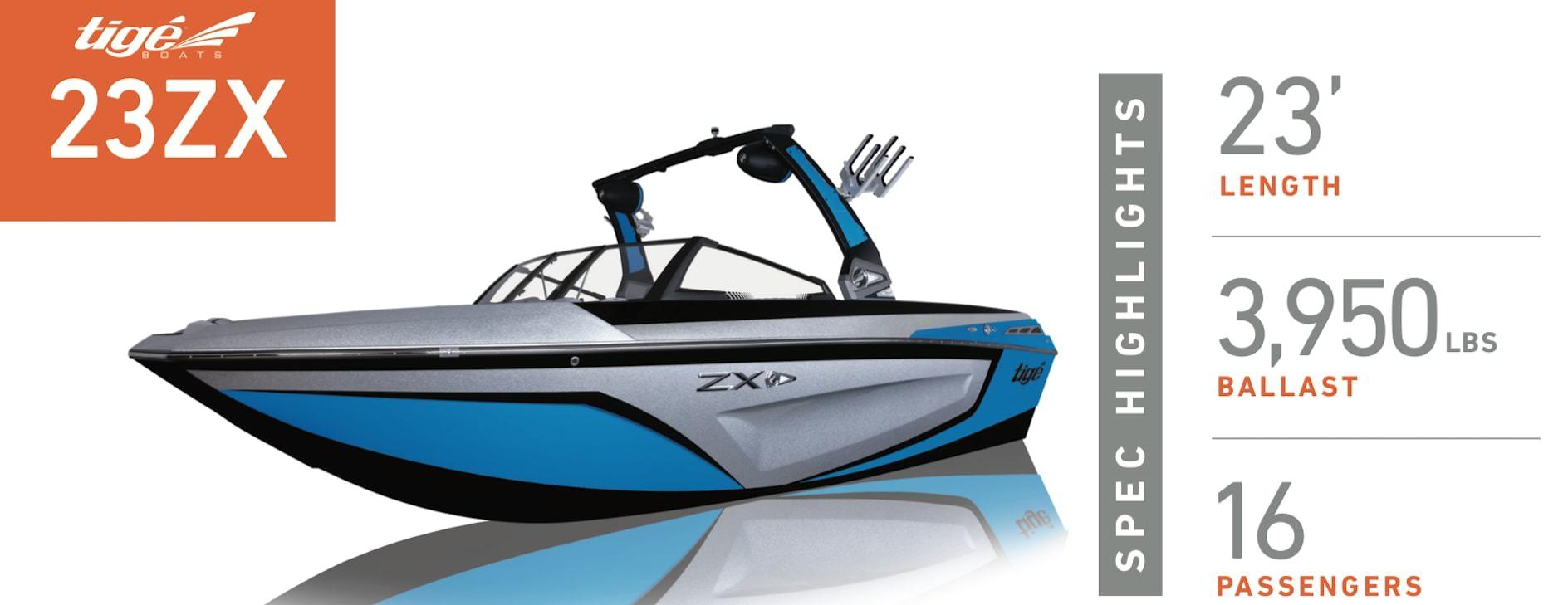 Tige 23ZX Profile view