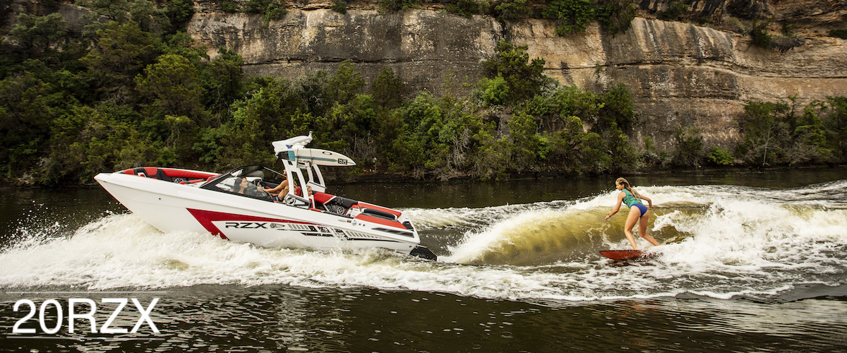 the widest beam and more storage than any boat in the 20' line. It combined design and technology.
