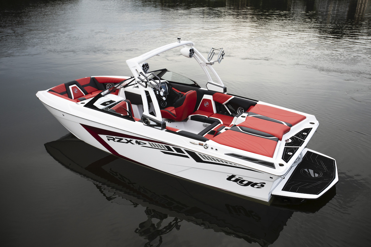 Tige Boat 20RZX own the deepest freeboard