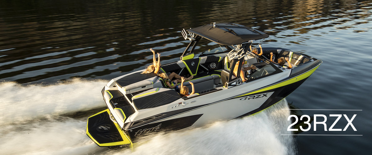 The Tige boat 23RZX is the definition of performance, luxury, versatility. It's fully loaded and fully featured