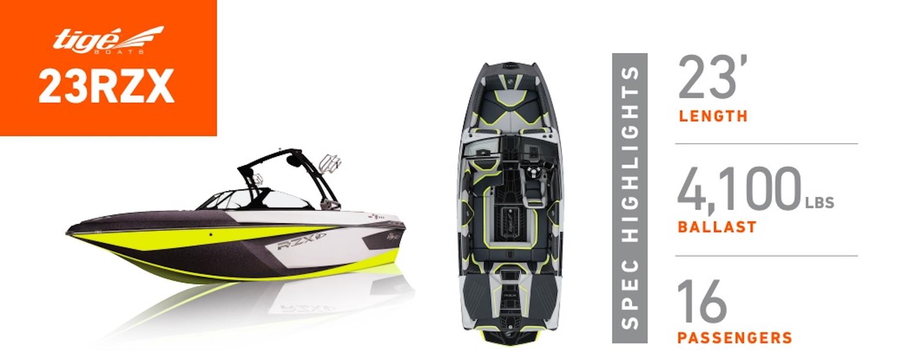 Tige-Boat-23RZX-SpechSeet