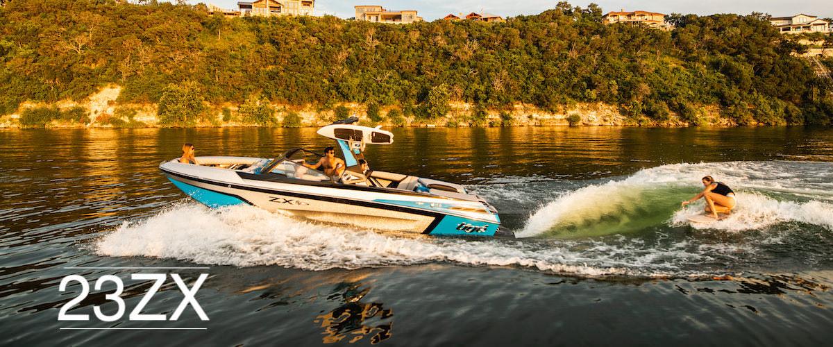 Tige Boat 23ZX Running shot
