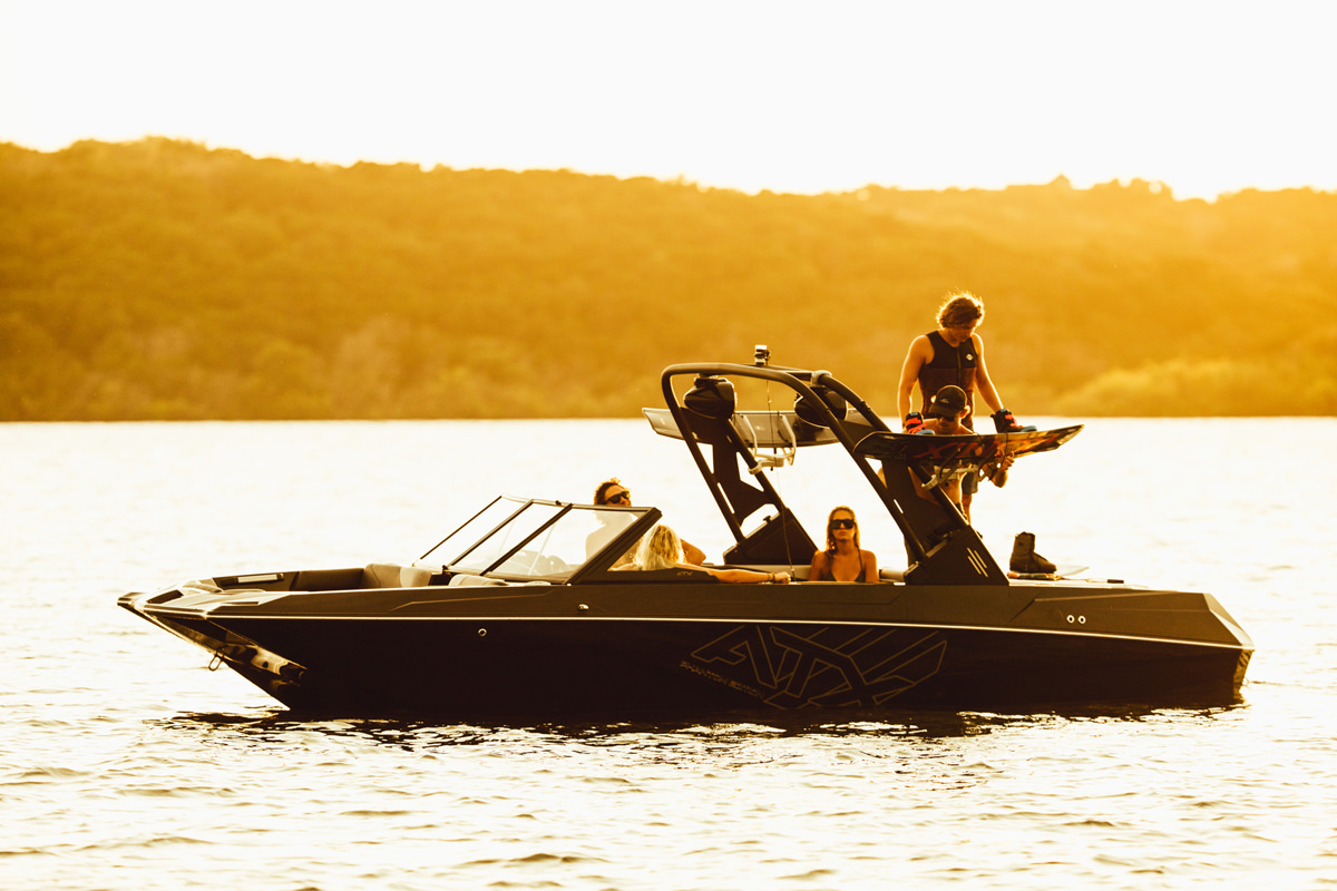 Tige Boat ATX22 Type-S is available on special edition like the Phantom edition