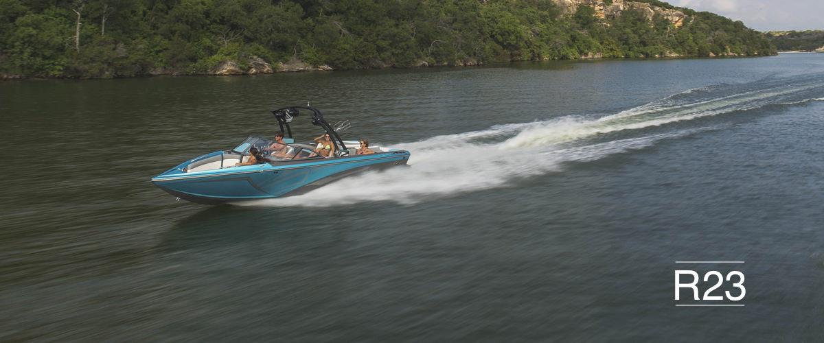 Tige boat R23 running shot