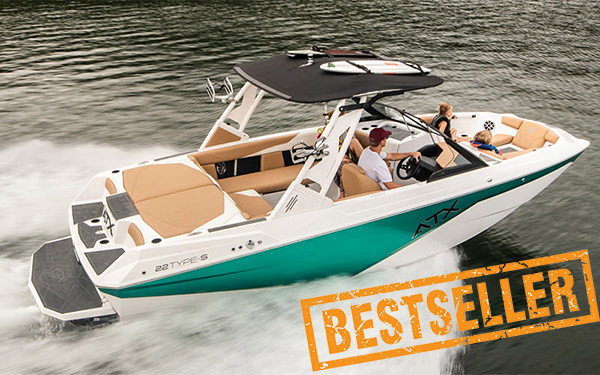 Tige ATX22S new affordable surf boat