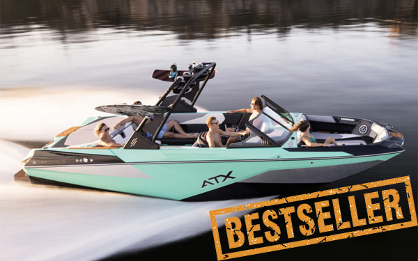 Tige ATX24 is the new bestselling wakeboard boat