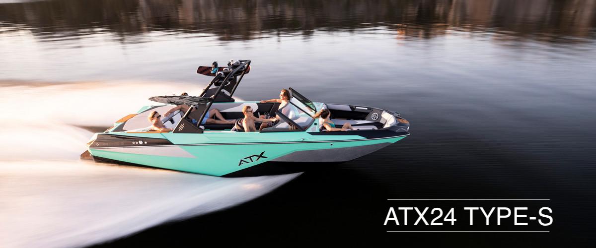 Tige boat ATX24 TYPE-S running shot