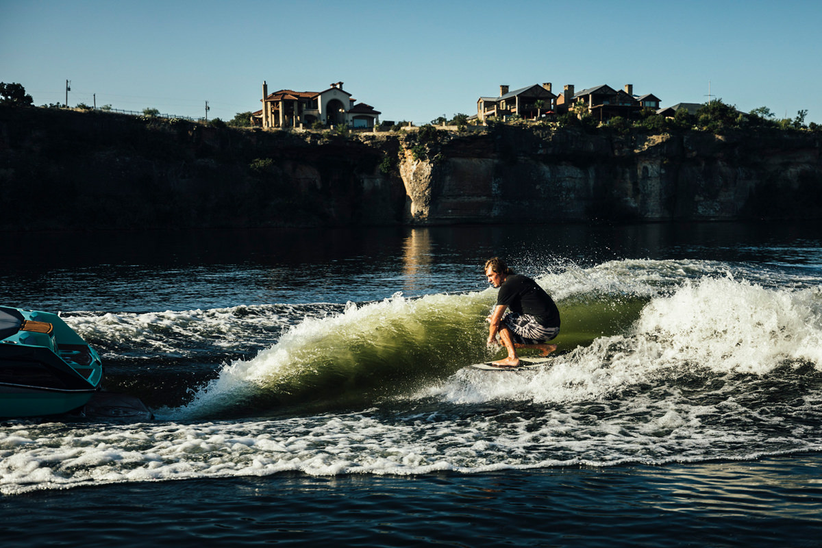 Tige boat ATX24 TYPE-S wakeboarding