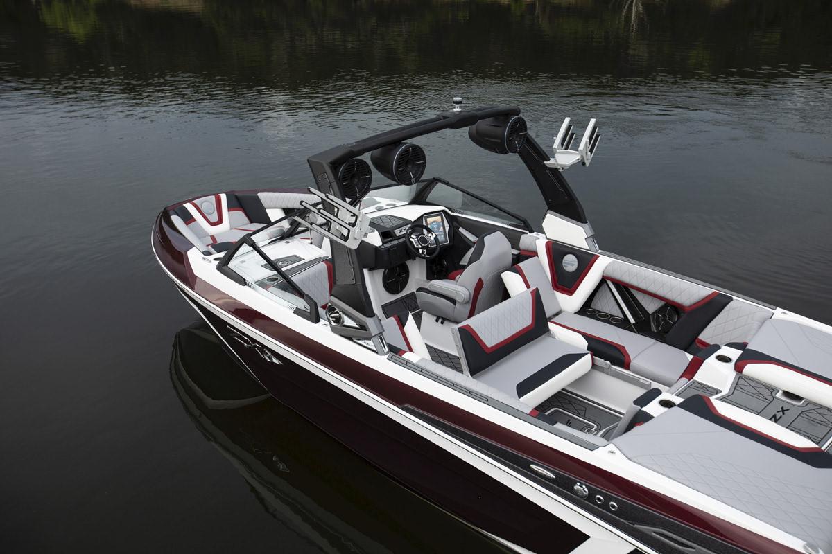 Tige Boats 25ZX Latest technologies